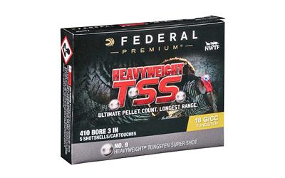 "Federal Heavyweight TSS .410 Bore Ammunition 5 Rounds 3"" #9"