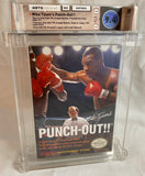Mike Tyson's Punch Out!! Nintendo NES Promotional Star Copy - Complete-In-Box - WATA Games 9.4