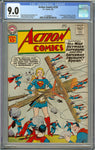 Action Comics #276 CGC 9.0 Off-White to White Pages - 1st Brainiac 5