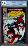 Amazing Spider-Man #361 1st Print CGC 9.6 with White Pages - 1st Appearance of Carnage