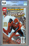 Amazing Spider-Man #546 1st Print CGC 9.8 with White Pages - 1st Appearance of Mr. Negative, Jackpot, Freak, and Bill Hollister