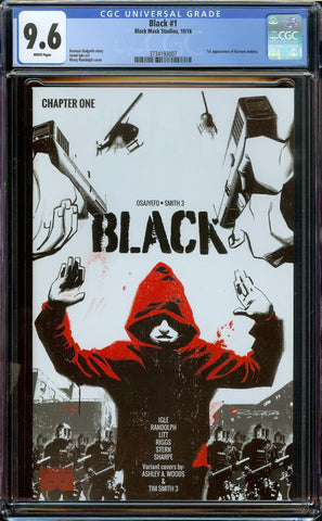 Black Chapter One #1 (2016) Black Mask Comics - 1st Print CGC 9.6 WP 1st Kareem Jenkins