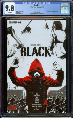 Black Chapter One #1 (2016) Black Mask Comics - 1st Print CGC 9.8 WP 1st Kareem Jenkins