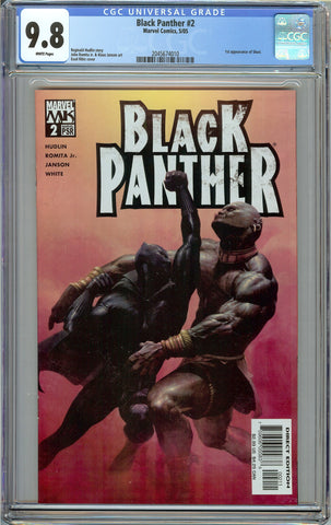 Black Panther #2 (2005) 1st Print CGC 9.8 with White Pages - 1st Shuri