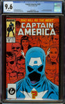 Captain America #333 CGC 9.6 with White Pages - 1st Johnny Walker (Super Patriot) As Captain America