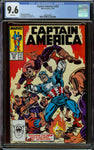 Captain America #335 CGC 9.6 with White Pages - 1st Watchdogs +New Captain America Adventure
