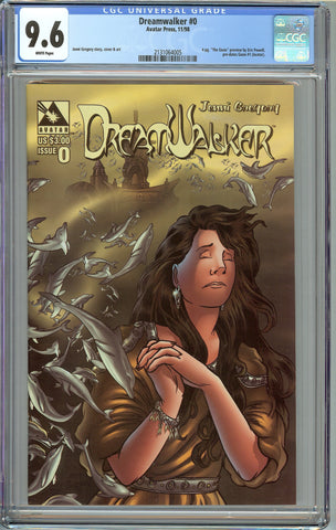 Dreamwalker #0 CGC 9.6 White Pages - Goon Preview, pre-dates #1 1st Appearance