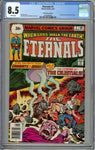 Eternals #2 30-Cent Price Variant CGC 8.5 with White Pages - 1st Ajak + Celestials