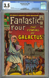Fantastic Four #48 CGC 3.5 with Off-White Pages - 1st Silver Surfer, Galactus Cameo