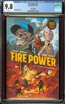 Fire Power #1 Advance Copy (2020) CGC 9.8 with White Pages