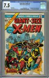 Giant-Size X-men #1 CGC 7.5 with Off-White to White Pages - 1st Appearance of the New Team