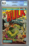 Incredible Hulk #180 CGC 8.5 with Off-White to White Pages - 1st Cameo Appearance of Wolverine