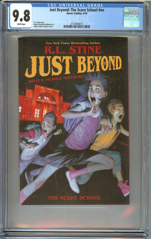 Just Beyond: The Scare School #1 (nn) CGC 9.8 with White Pages - R.L. Stine - Boom 2019