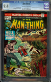 Man-Thing Vol. 1 #2 CGC 9.4 OW/W - 1st Richard Rory