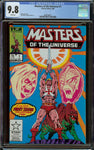 Masters of the Universe MTU He-Man #1 CGC 9.8 White Pages - Marvel Comics Copper Age