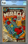 Mister Miracle #6 CGC 9.6 with Off-White to White Pages - Jack Kirby - 1st Darkseid's Female Furies