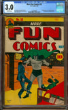 More Fun Comics #55 CGC 3.0 Off-White Pages - 1st Doctor Fate