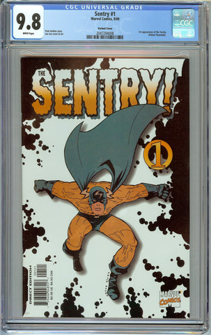 Sentry #1 Jae Lee Variant CGC 9.8 with White Pages - 1st Appearance of Sentry (Robert Reynolds)