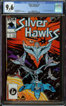 Silver Hawks #1 CGC 9.6 White Pages - 1st Appearance in Comics - Marvel Comics 1987