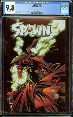 Spawn #90 (Image, 1999) CGC 9.8 White Pages