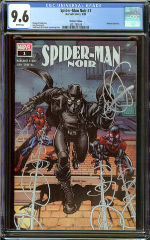 Spider-Man Noir #1 (2020) Wal-Mart Exclusive Variant CGC 9.6 with White Pages