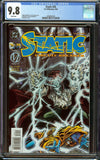 Static #35 DC Comics CGC 9.8 White Pages - 1st Ambrose Caliburn Prometheus - Only 1 9.8 Copy