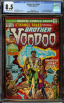 Strange Tales #169 CGC 8.5 with Off-White to White Pages - 1st Appearance of Brother Voodoo (Jericho Drumm)