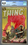 Thing #2 CGC 4.0 with Off-White Pages - Charlton Comics Pre-Code Horror