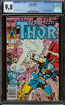 Thor #339 Newsstand Copy CGC 9.8 with White Pages - 1st Appearance of Stormbreaker