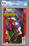 "Ultimate Spider-Man #1 1st Print Direct Edition CGC 9.6 with White Pages - 1st ""Ultimate"" Title"