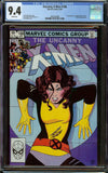 Uncanny X-men #168 CGC 9.4 White Pages - 1st Appearance of Madelyne Pryor