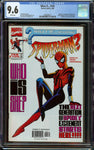 What If? #105 CGC 9.6  with White Pages - Origin + 1st Appearance of Spider-Girl