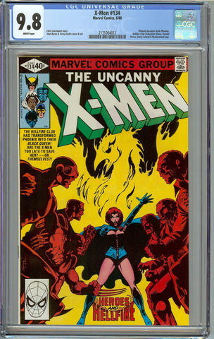 Uncanny X-men #134 CGC 9.8 with White Pages - 1st Appearance of Dark Phoenix
