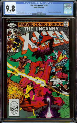 Uncanny X-men #160 CGC 9.8 White Pages - 1st Appearance of Illyana (Magik)