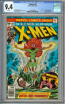 X-men #101 CGC 9.4 with White Pages - Origin and 1st Appearance of Phoenix