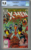 Uncanny X-men #166 CGC 9.8 with White Pages - 1st Appearance of Lockheed