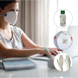 FFP1 Respirator by Honeywell with Vansan's 100 ml Hand gel and Hand Protect
