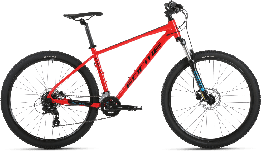 Forme Bikes Forme 2021 Curbar 3 Hardtail Mountain Bike Red