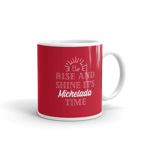 Rise and Shine Coffee Mug - Michelada Merch from Michelada Map