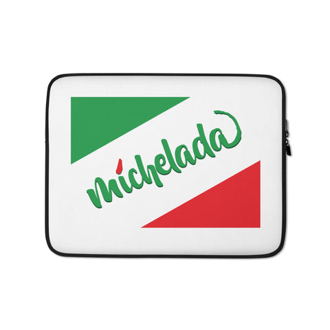 Chile Lime Seasoning Laptop Sleeve - Michelada Merch from Michelada Map