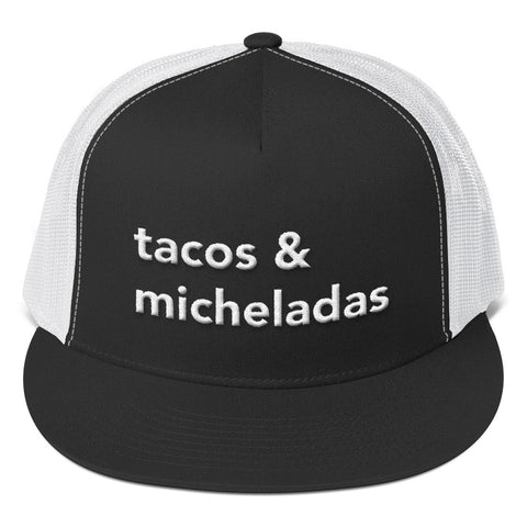Tacos & Micheladas Trucker Cap - Michelada Merch from Michelada Map