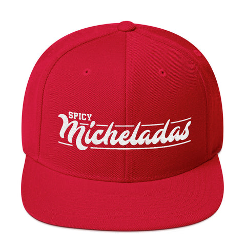 Spicy Micheladas Snapback Hat - Michelada Merch from Michelada Map