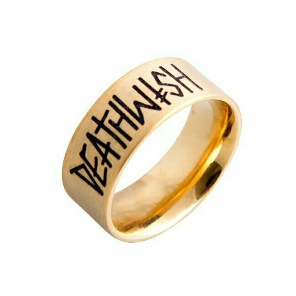 DEATHWISH- Deathspray Ring GOLD