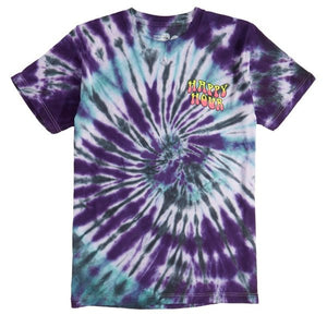 HAPPY HOUR- Trip Out FADE Tie Dye Tee