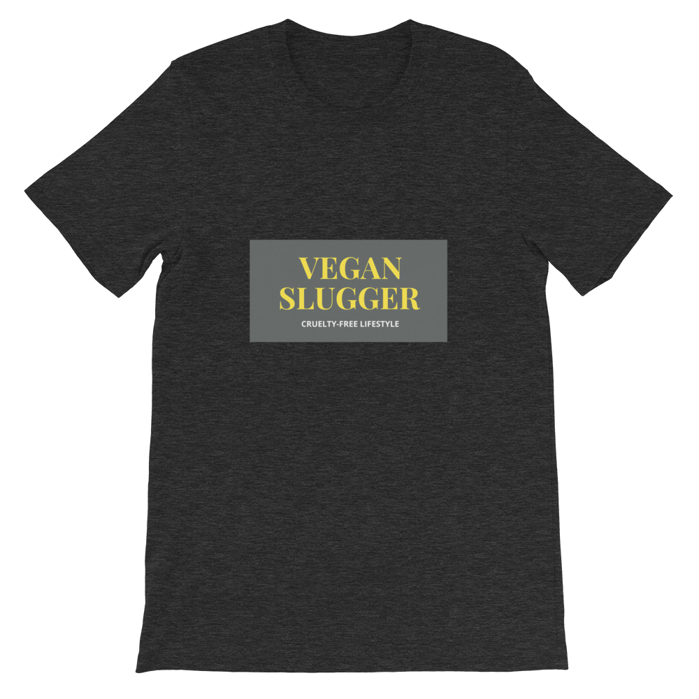 Classic Rectangle T-Shirt Dark Heather Vegan Slugger