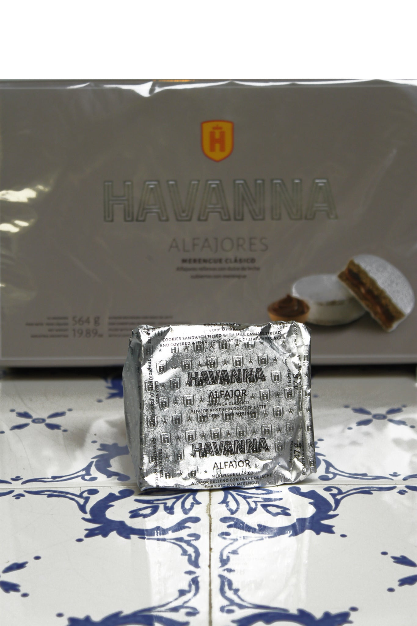 Alfajor Blanco
