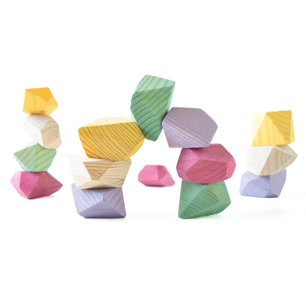 Rock blocks (16 set bright)