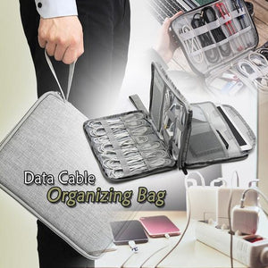 Data Cable Organizing Bag