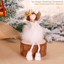 Load image into Gallery viewer, (Children's Christmas Gift) Home Wooden Christmas Tree Decoration Cute Angel Doll
