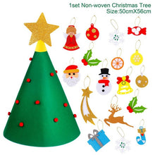 Load image into Gallery viewer, 3D DIY felt Christmas tree